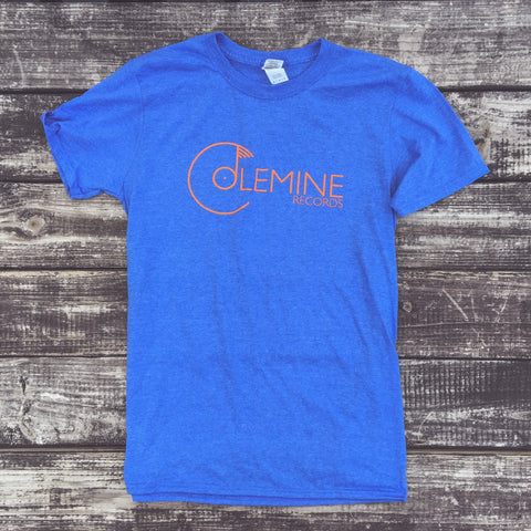 <b>COLEMINE LOGO</b><br>Heather Royal/Orange