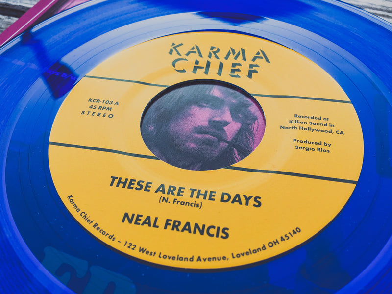 NEAL FRANCIS - These Are The Days