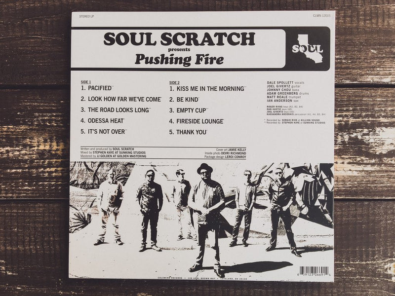 SOUL SCRATCH - Pushing Fire