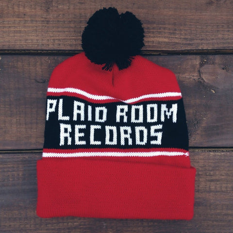 <b>PLAID ROOM WINTER HAT</b><br>Keep that dome warm