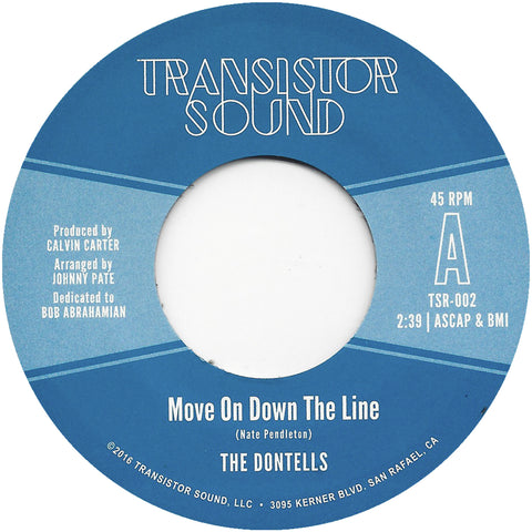 <b>THE DONTELLS</b><br><i>Move On Down The Line</i>
