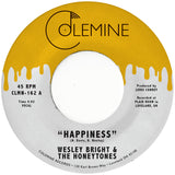 <b>WESLEY BRIGHT & THE HONEYTONES</b><br><i>Happiness</i>