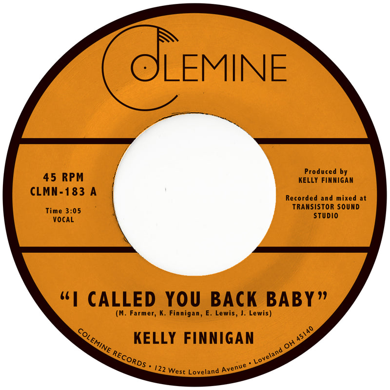 KELLY FINNIGAN - I Called You Back Baby