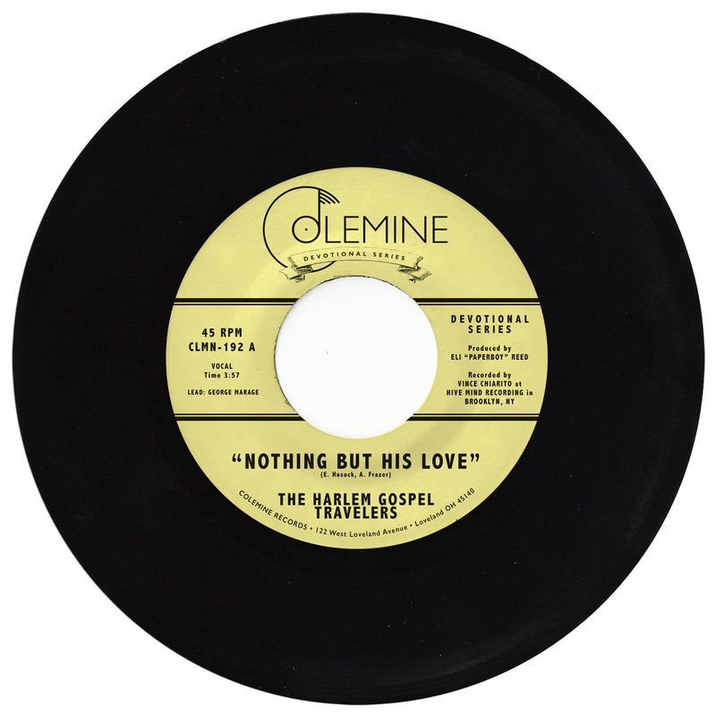 THE HARLEM GOSPEL TRAVELERS - Nothing But His Love [RELEASE DATE: 5/7/21]