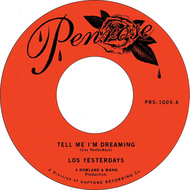 LOS YESTERDAYS - Tell Me I'm Dreaming