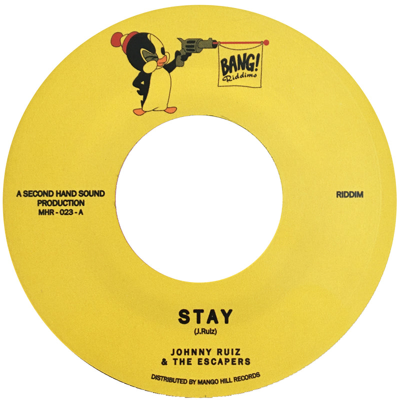JOHNNY RUIZ & THE ESCAPERS - Stay