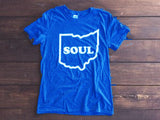 <b>OHIO SOUL T-SHIRT</b><br>Heather Royal