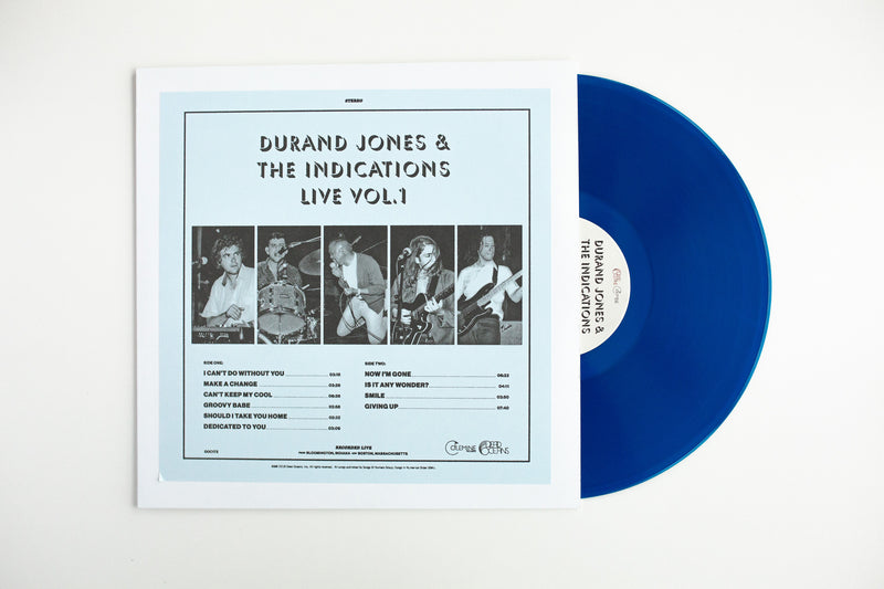 DURAND JONES & THE INDICATIONS - Live Vol. 1