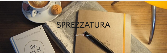 SPREZZATURA - Life well - lived.