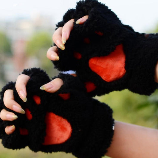 Cat Paw Comfy Gloves