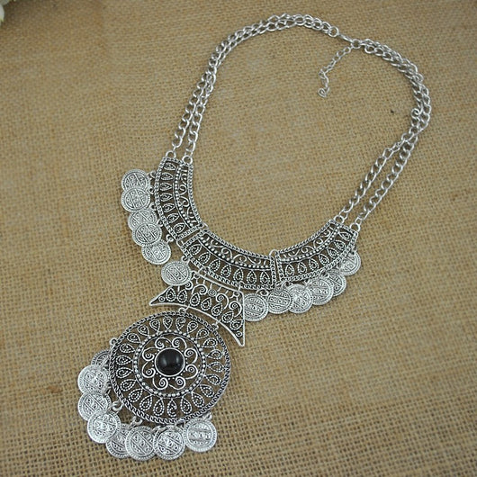 Windseal Turkish Coin Necklace