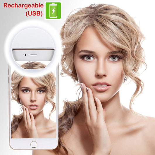 Clip On Smartphone LED Selfie Light