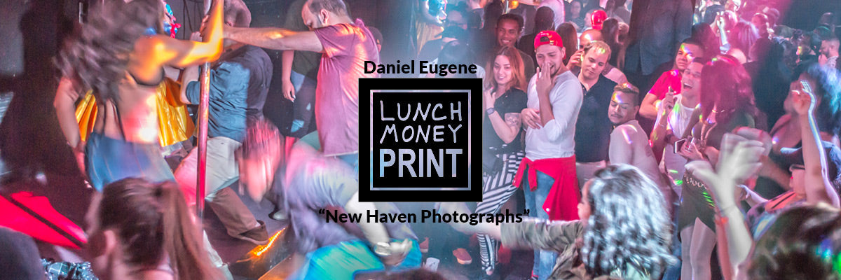 Lunch Money Print and Daniel Eugene - New Haven Photographs #NHVdrag