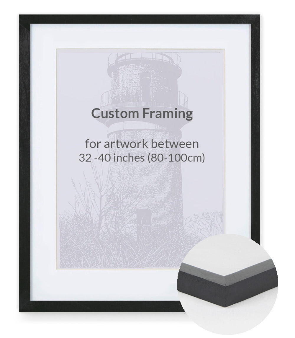 Custom Framing - Contemporary Bevel - XL (32
