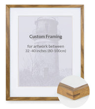 "Custom Framing - Contemporary Bevel - XL (32""- 40"")"
