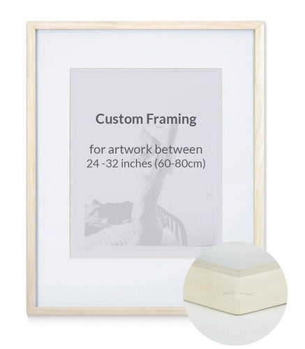 Custom Framing - Contemporary - Large (24