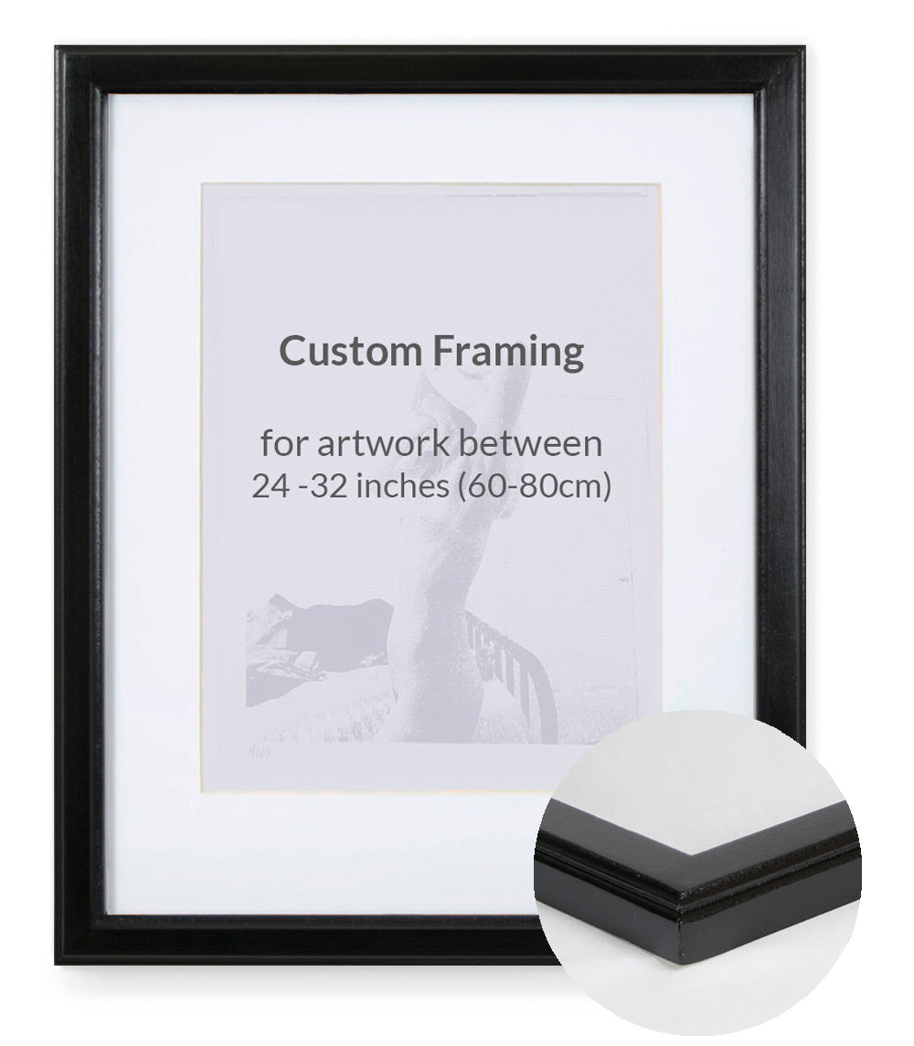 Custom Framing - Decorative - Large (24