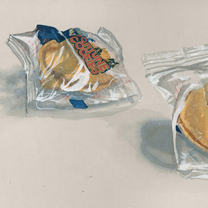 "Michael Angelis, ""Fortune Cookies"" - print"