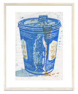 "Michael Angelis, ""Hot Coffee"" - print"