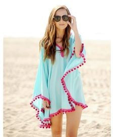 Handmade DIY Beach Cover Up