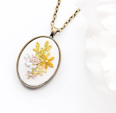 Unique Jewelry Embroidery