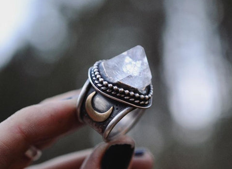 Unique Jewelry Handmade Silver Rings