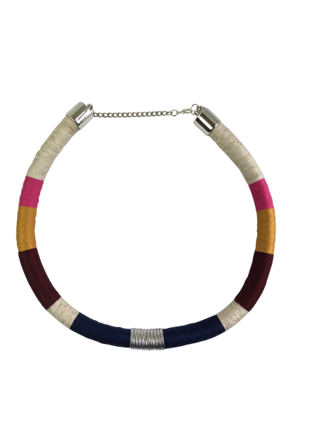 Multi Color Minimalist Necklace