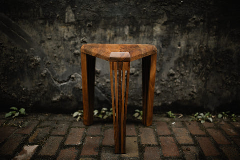 Optique stool - Albert Potgieter Designs
