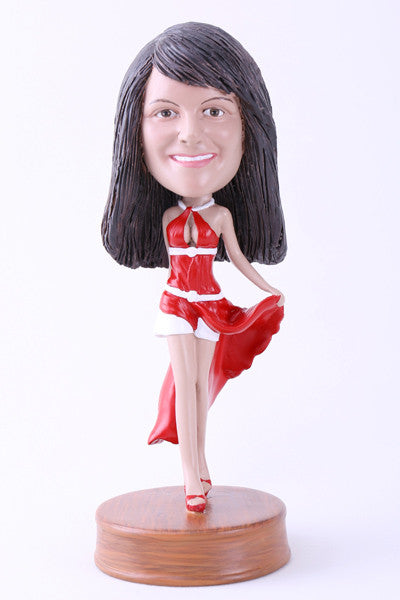 Female Going Out On The Town 3 Bobblehead