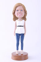 Female Going Out On The Town Bobblehead