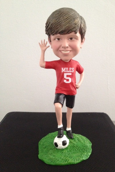 5th Birthday Soccer Bobblehead