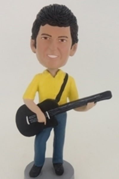 Guitar Player Bobblehead 4