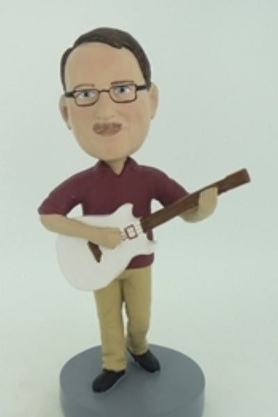Guitar Player Bobblehead 5