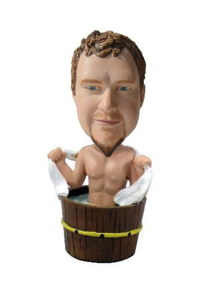 Guy in Hot Tub Bobblehead