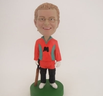 Cricket Player Bobblehead
