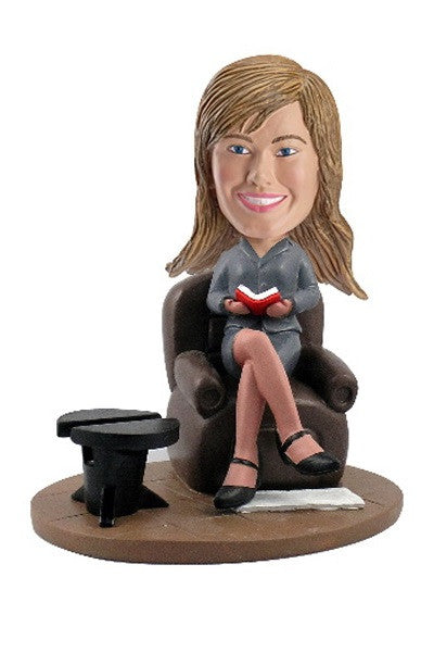Love to Read Bobblehead