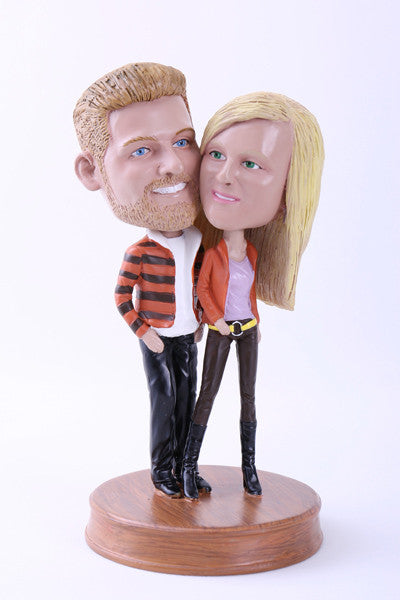 Stylish Couple Bobblehead