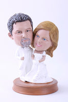 Wedding Couple 5 (Bride and Groom) Bobblehead