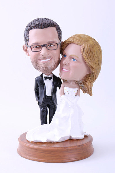 Wedding Couple 4 (Bride and Groom) Bobblehead
