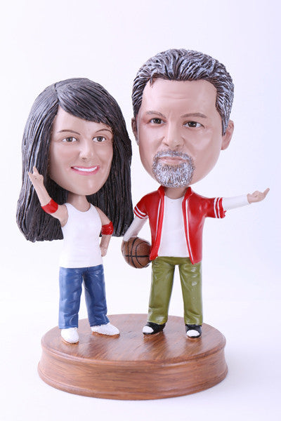 Sports Couple Bobblehead