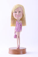 Female Night Club Bobblehead