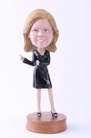 Female Going Out On The Town 4 Bobblehead
