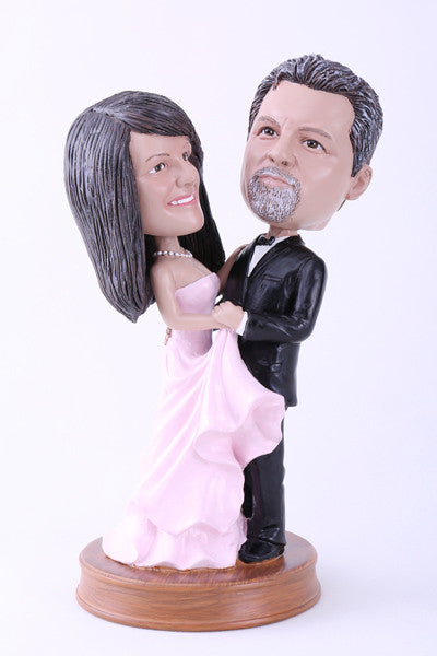 Wedding Couple 3 (Bride and Groom) Bobblehead