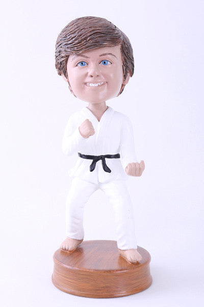 Karate Bobblehead