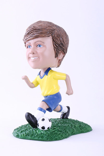 Soccer Player Running Bobblehead