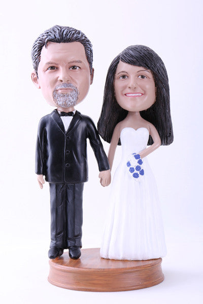 Wedding Couple (Bride and Groom) Bobblehead