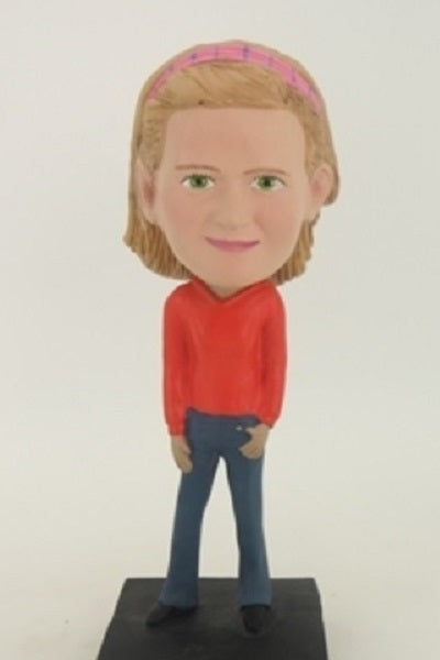 Casual Girl 3 Bobblehead