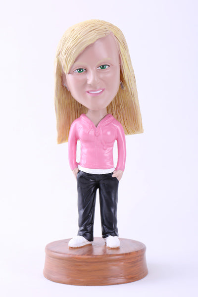 Casual Girl Bobblehead