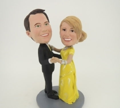 Dancing Couple Bobblehead