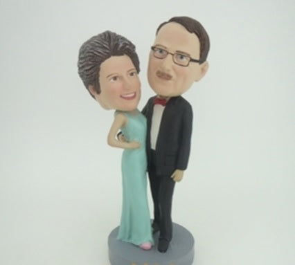 Happy Couple 4 Bobblehead